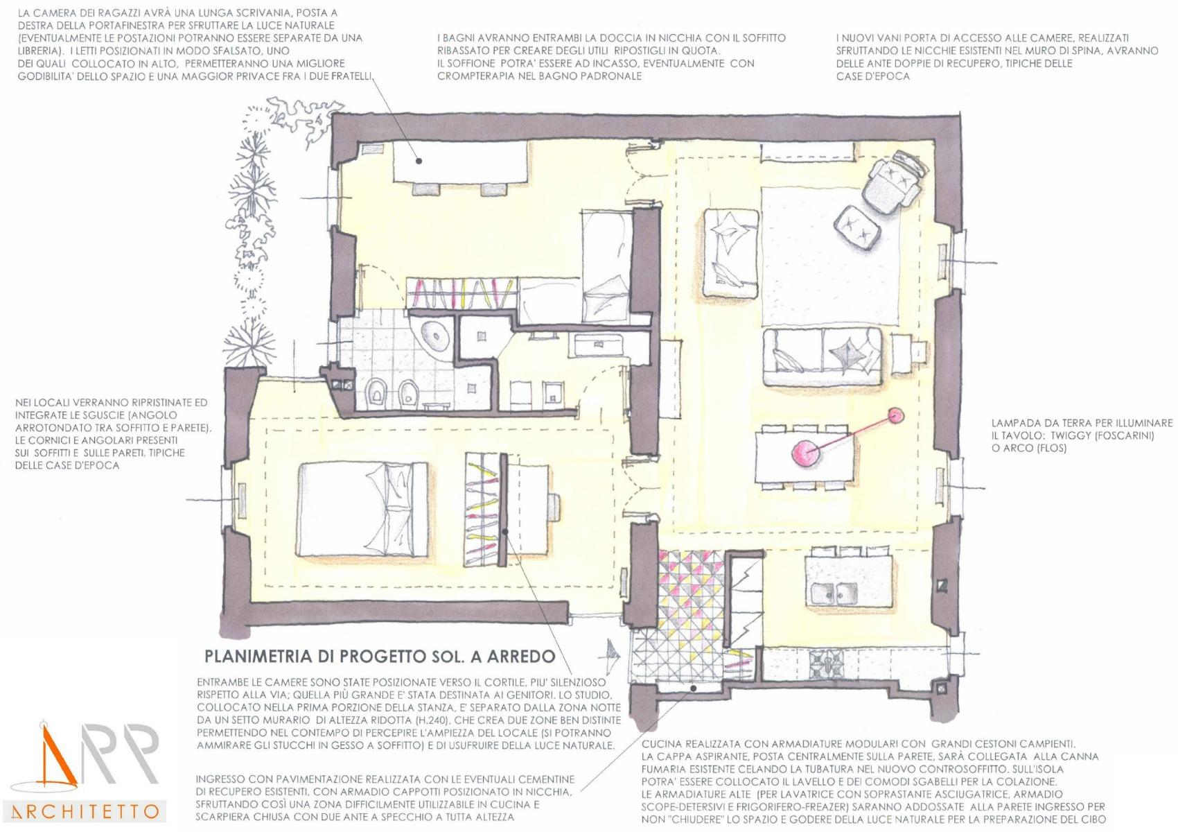 Progetto camera con bagno dz56 regardsdefemmes for Quanto costa una casa con 4 camere da letto